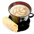 Cup cappuccino — Stock Photo