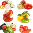 Mixed vegetables — Stock Photo #1195881