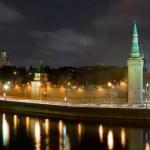 Moscow Kremlin Panorama — Stock Photo