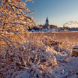 Naantali's  church - Stock Photo
