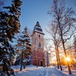 Naantali's  church — Stock Photo