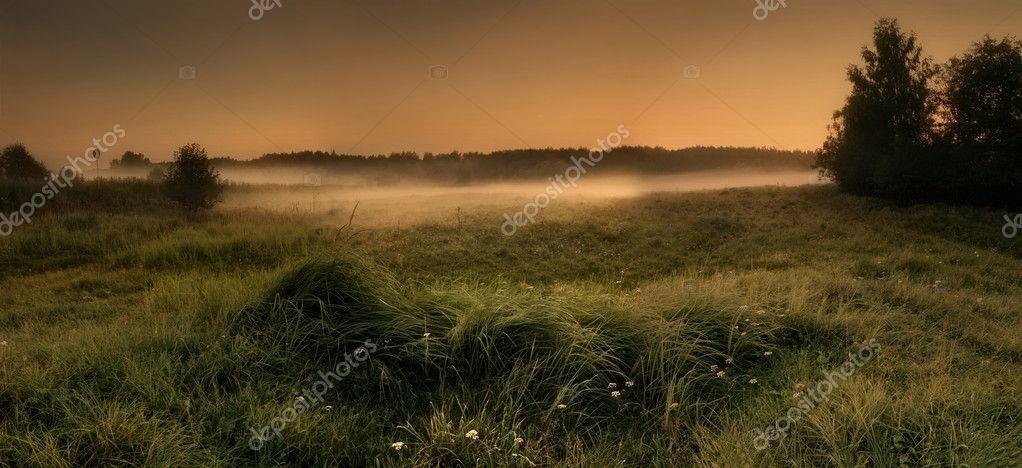 Фотообои Панорамный пейзаж