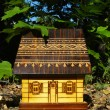 Model of the house among trees — Foto de Stock