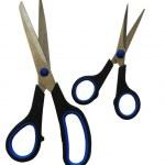 Two pairs scissors — Stock Photo