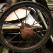 Wheel with spokes — Stock Photo