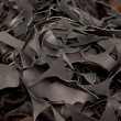 Royalty-Free Stock Photo: Scraps of a black skin