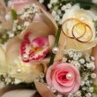 Stock Photo: Weddings rings