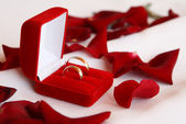 Weddings-rings — Stock Photo