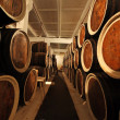 Barrels with the wine alcohol — Stock Photo #1520079