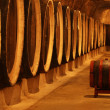 Barrels with the wine alcohol — Stock Photo #1520109