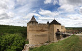 Fortress of Khotyn, Ukraine — Stock Photo