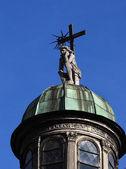 Sculpture of Jesus , Lviv, — Stock Photo