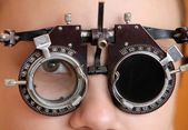 Instruments of oculist — Stock Photo