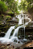 Waterfall Shipot, Ukrain — Stock Photo