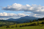Carpathians mountains, Ukraine — Stock Photo