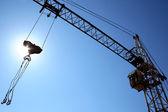 Building crane — Stock Photo