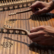 Ukranian dulcimer — Stock Photo
