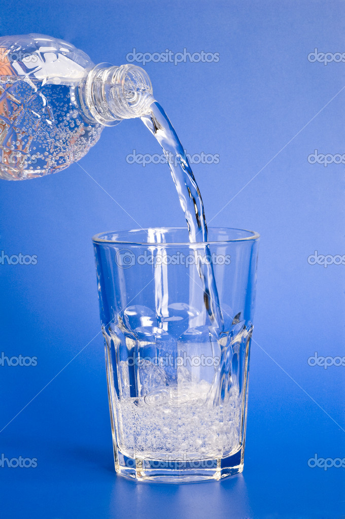 Pouring Water Pouring water - stock photo