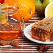 Still life of honey — Stock Photo #1189886