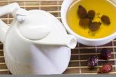 Hips berry tea — Stock Photo