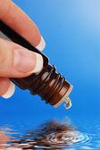 Alternative medicine: essence — Stock Photo