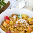 Royalty-Free Stock Photo: Cornflakes breakfast