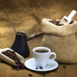 Stock Photo: Still life of coffee