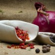 Stock Photo: Spice still life