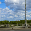Paton bridge, Kiev, Ukraine — Stock Photo