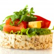 diet sandwich — Stock Photo