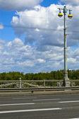 Paton bridge, Kiev, Ukraine — Stock Photo