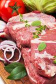 Still life of meat — Stock Photo