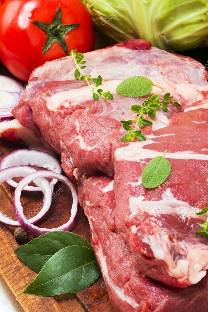 Still life of meat  Stock Photo #1225001