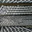 Aluminium ventilating pipes — Stock Photo #1251504