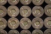 Rijen van kogels, 12-th kaliber — Stockfoto