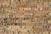 Natural cork texture. — Стоковое фото