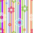 Stock Vector: Pastel floral background