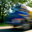 Truck with high speed — Stock Photo #1142260
