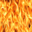 Fire flames background — Stock Photo