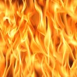 Stock Photo: Fire flames background