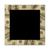 Dollar frame — Stock Photo