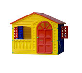 Toy house — Stock Photo