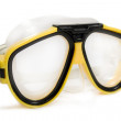 Yellow diving mask — Stock Photo #1425967