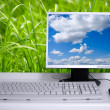 Eco PC - Stock Photo