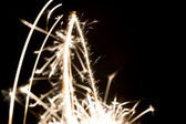 Abstract sparks — Stock Photo