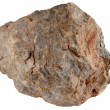 Large rock stone isolated. - Stock Photo
