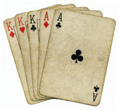 Full house aces and Kings. — Stock Photo