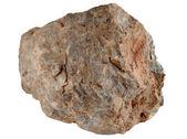 Grande pedra pedra isolada. — Fotografia Stock