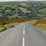 Country road on Dartmoor. — Stock Photo #1954859