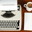 A writers desk. - Stock Photo